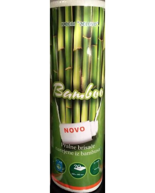Bamboo- pralne brisače 1 rolca=20 brisač