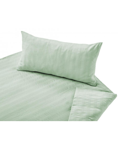 Posteljnina Crinkle zelena 140x200, 50x70