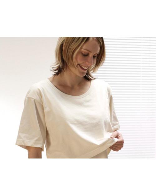 Majica za dojenje iz ekološkega bombaža
