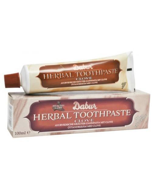 Zeliščna ajurvedska zobna pasta 'Nageljnove žbice'