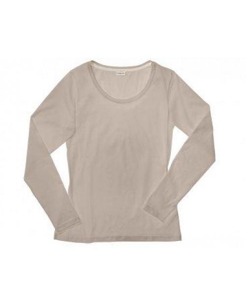 Majica ženska DR peščena- brez elastana