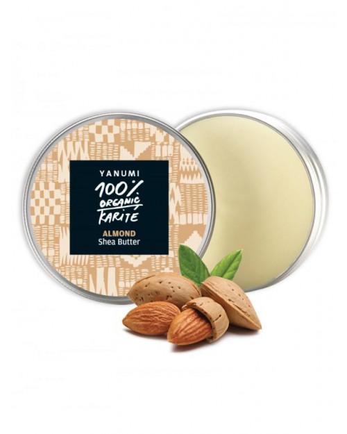100% naravno karitejevo maslo z mandljevim oljem, 100 ml