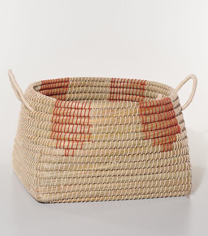 Košara morska trava rdeča Fair Trade