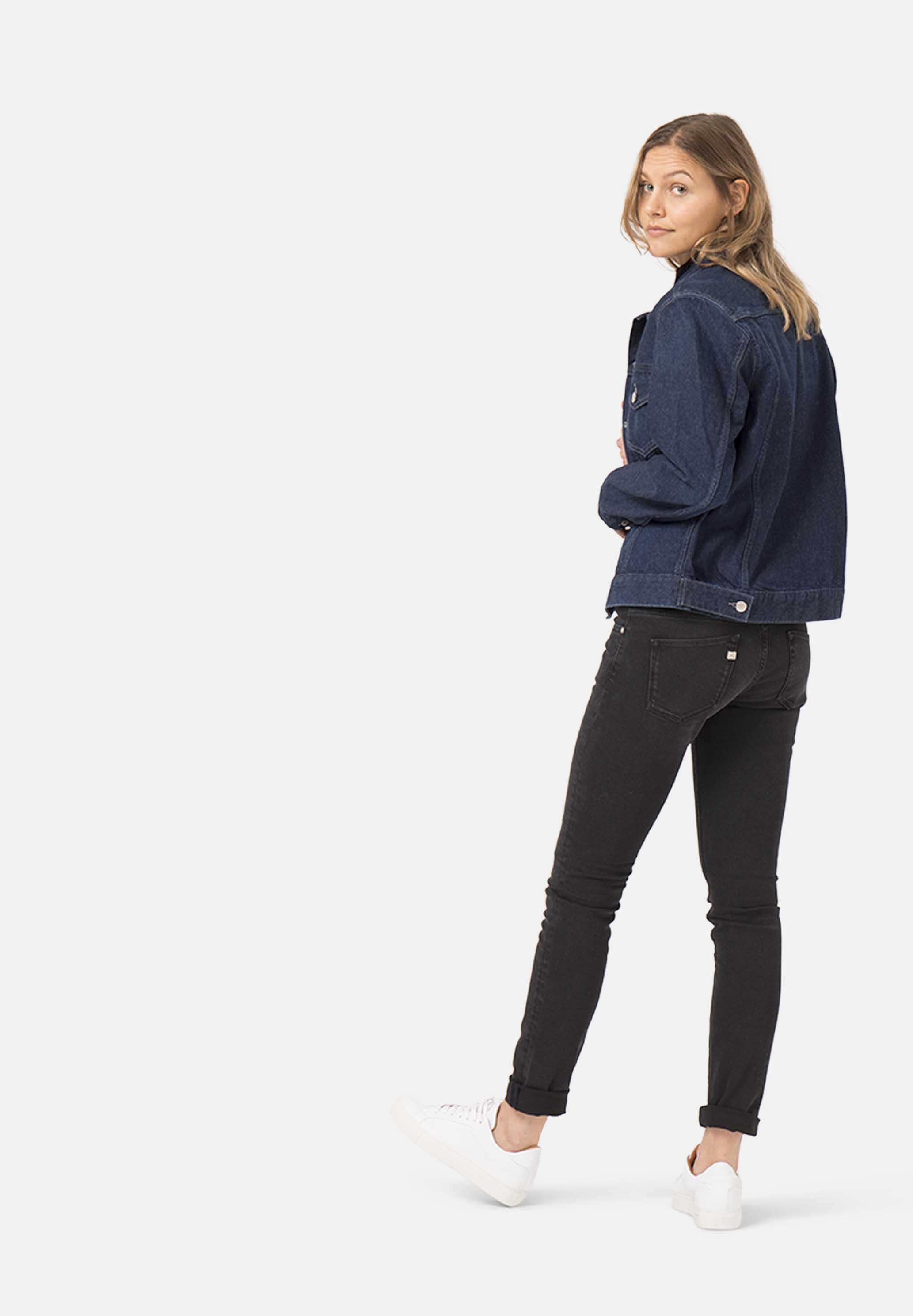Skinny Lilly MUD jeans Stone Black