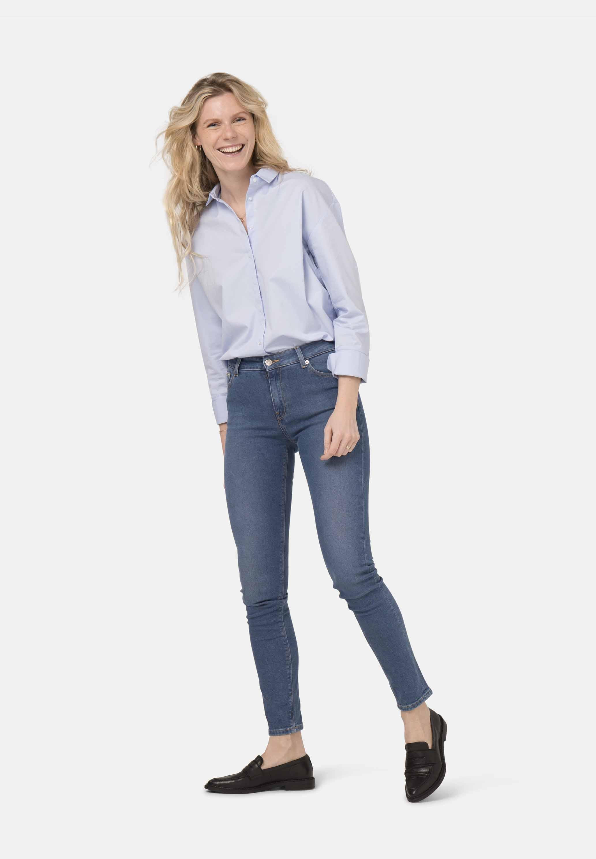 Skinny Hazen MUD jeans Pure Blue