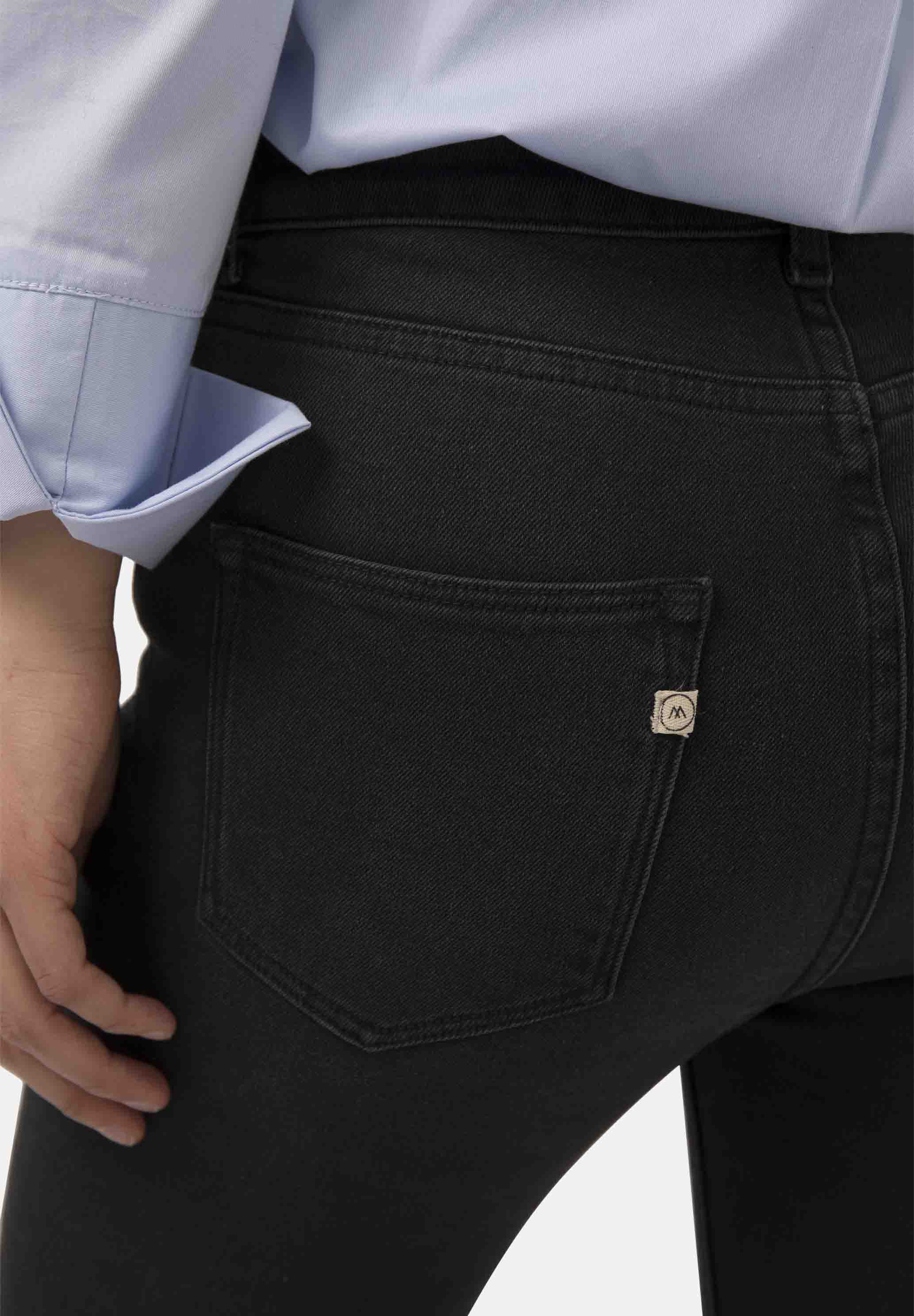 Flared Hazen MUD jeans Stone Black