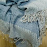 Volnena deka WoolMe 130x200 Luigi aqua