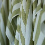 Krpa iz 100% lanu zelena Philippe 47x65