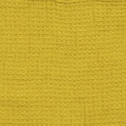 Brisača/deka iz 100% lanu citrine 75x130