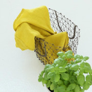 Krpa iz 100% lanu citrine 53x70