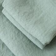 Brisača/Deka iz 100% lanu spa green 75x130