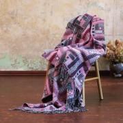 Volnena deka WoolMe 130x180 Marta lila