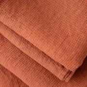 Brisača iz 100% lanu rust w. 100x160