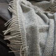 Volnena deka WoolMe 130x180 Bruno modra 130x180
