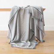 Volnena deka WoolMe 130x180 Salvatore silver
