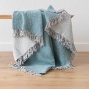 Volnena deka WoolMe 130x180 merino Marcus aqua