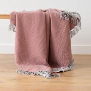 Volnena deka WoolMe 130x180 merino Marcus rosa