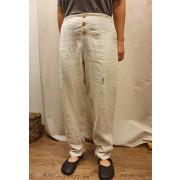 Ženske lanene hlače Tihe L