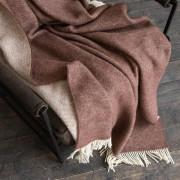 Volnena deka WoolMe 130x200 Roberto rjava